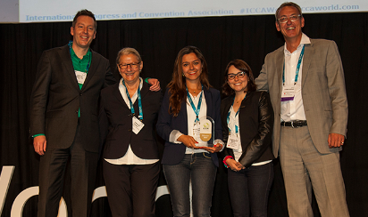 Greater Bogota Convention Bureau wins Best PR Award 2015 at 54th ICCA Congress in Buenos Aires, Argentina