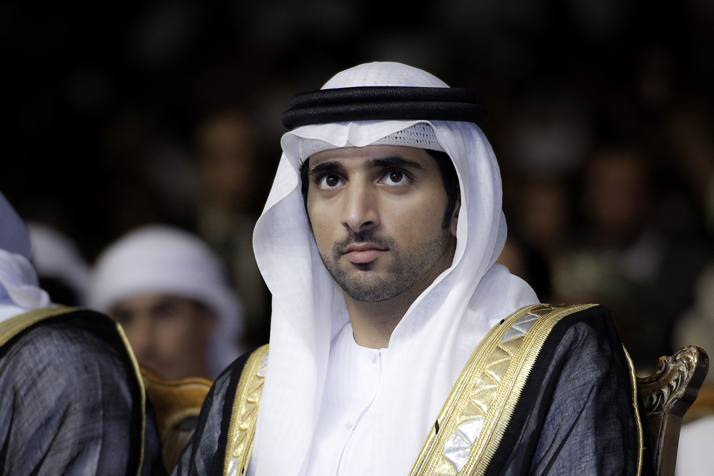 His Highness Sheikh Hamdan bin Mohammed bin Rashid Al Maktoum, Crown Prince of Dubai and Chairman of the Executive Council of Dubai